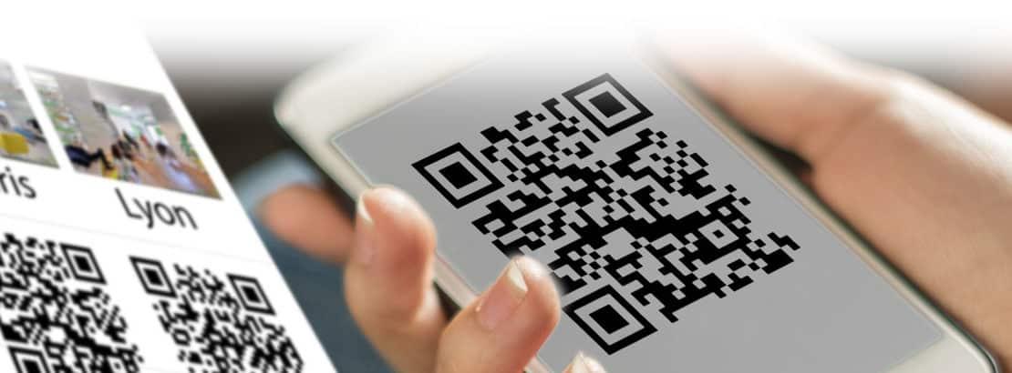 QR code bannière Visite 360 Pro