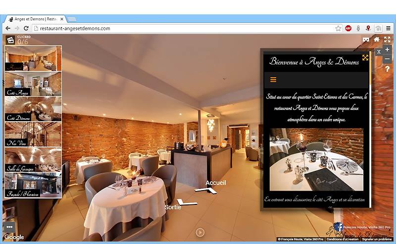 Restaurant Anges & Démons à Toulouse