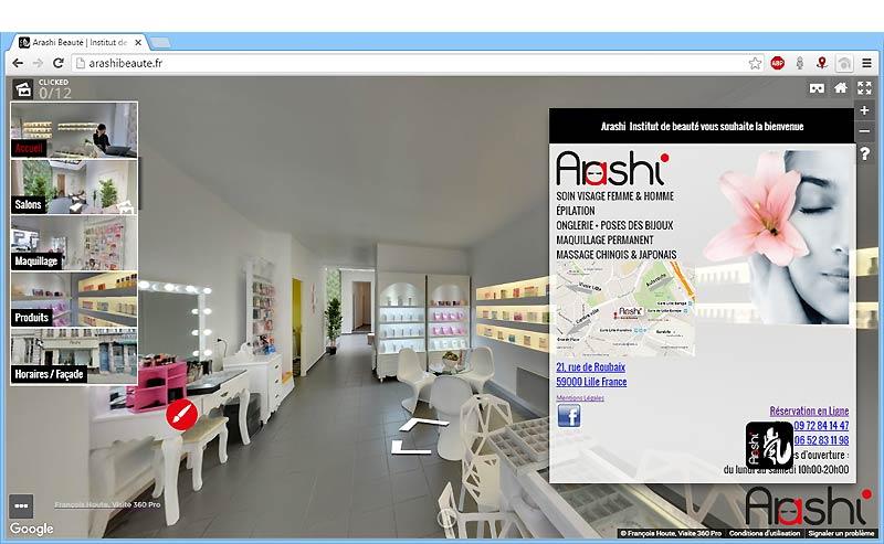 Institut Arashi Beauté à Lille