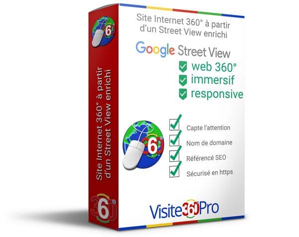 Site web 360° par Visite 360 Pro