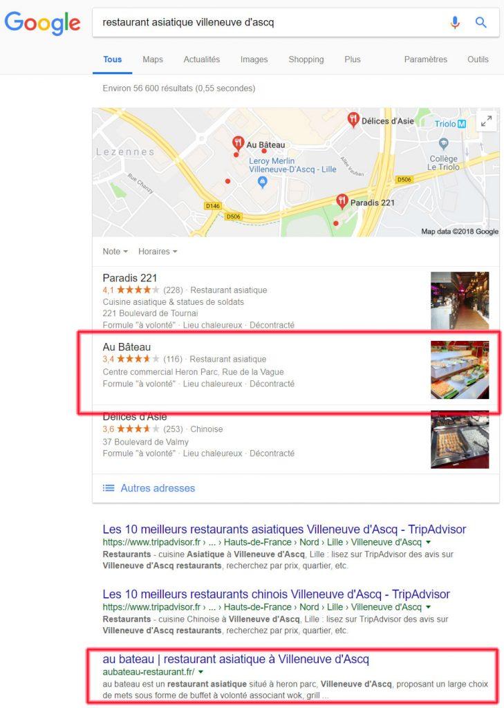 recherche restaurant asiatique