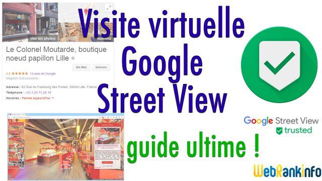 visite virtuelle Google Guide pour les pros
