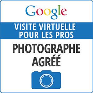 Badge Google Visite virtuelle pour les pros 2012