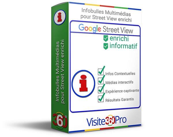 Infobulles Multimédias pour Street View enrichi