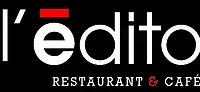 Logo l'édito restaurant