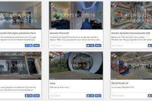 portfolio visites Street View enrichis Visite 360 Pro