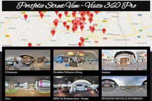 portfolio Street View Visite 360 Pro